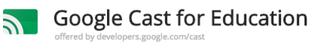 Google Cast for EDU - Screen Mirror tool