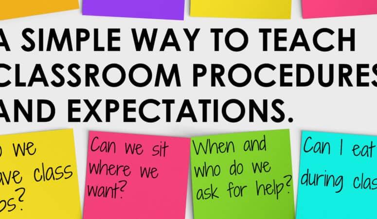 classroom expectations Archives \u2022 Teacher Thrive