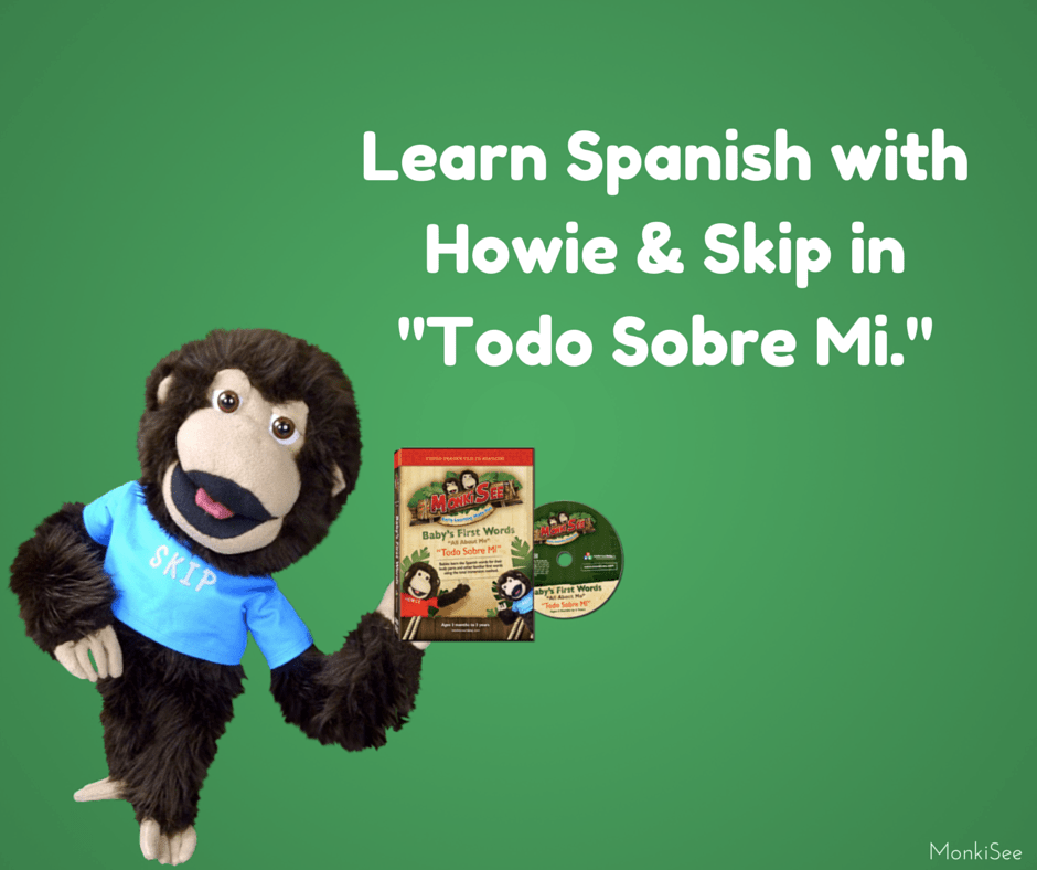 Teach Baby Spanish DVD