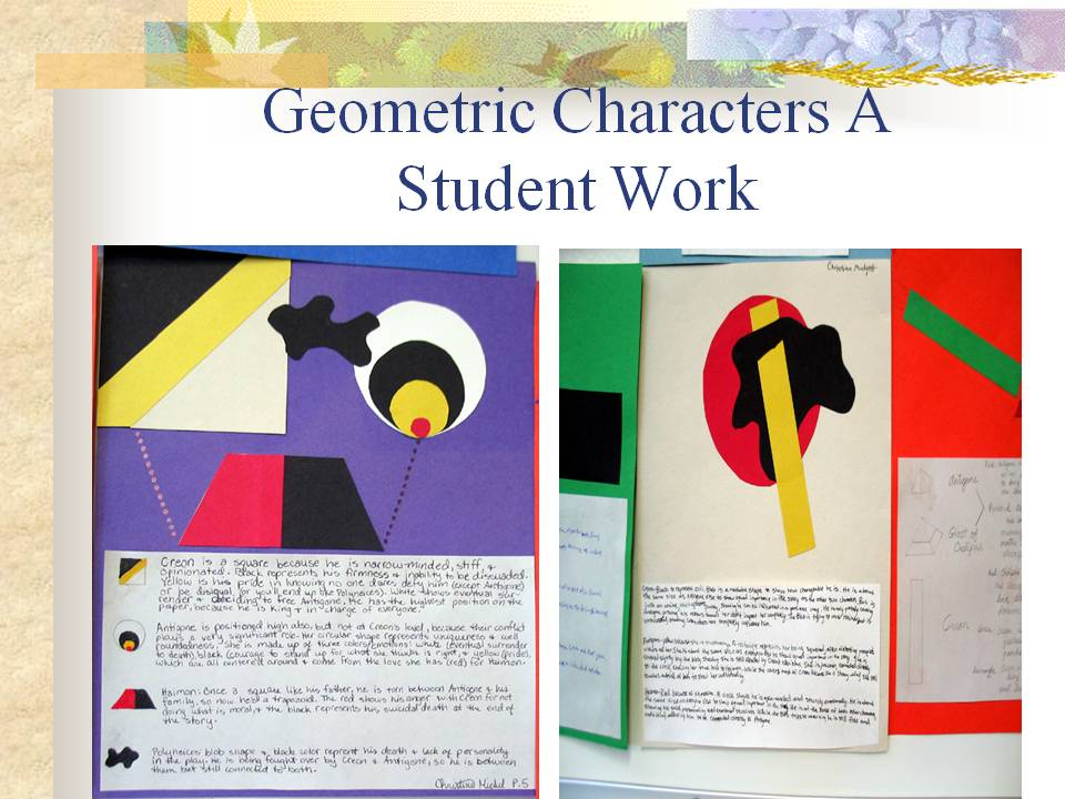 Geometric Character Analysis \u2013 Teaching English Language Arts