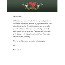 Small Crop Of Thank You Letter For Gift