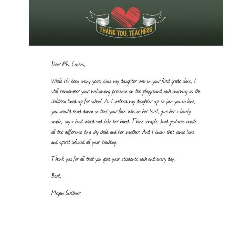 Medium Crop Of Thank You Letter For Gift