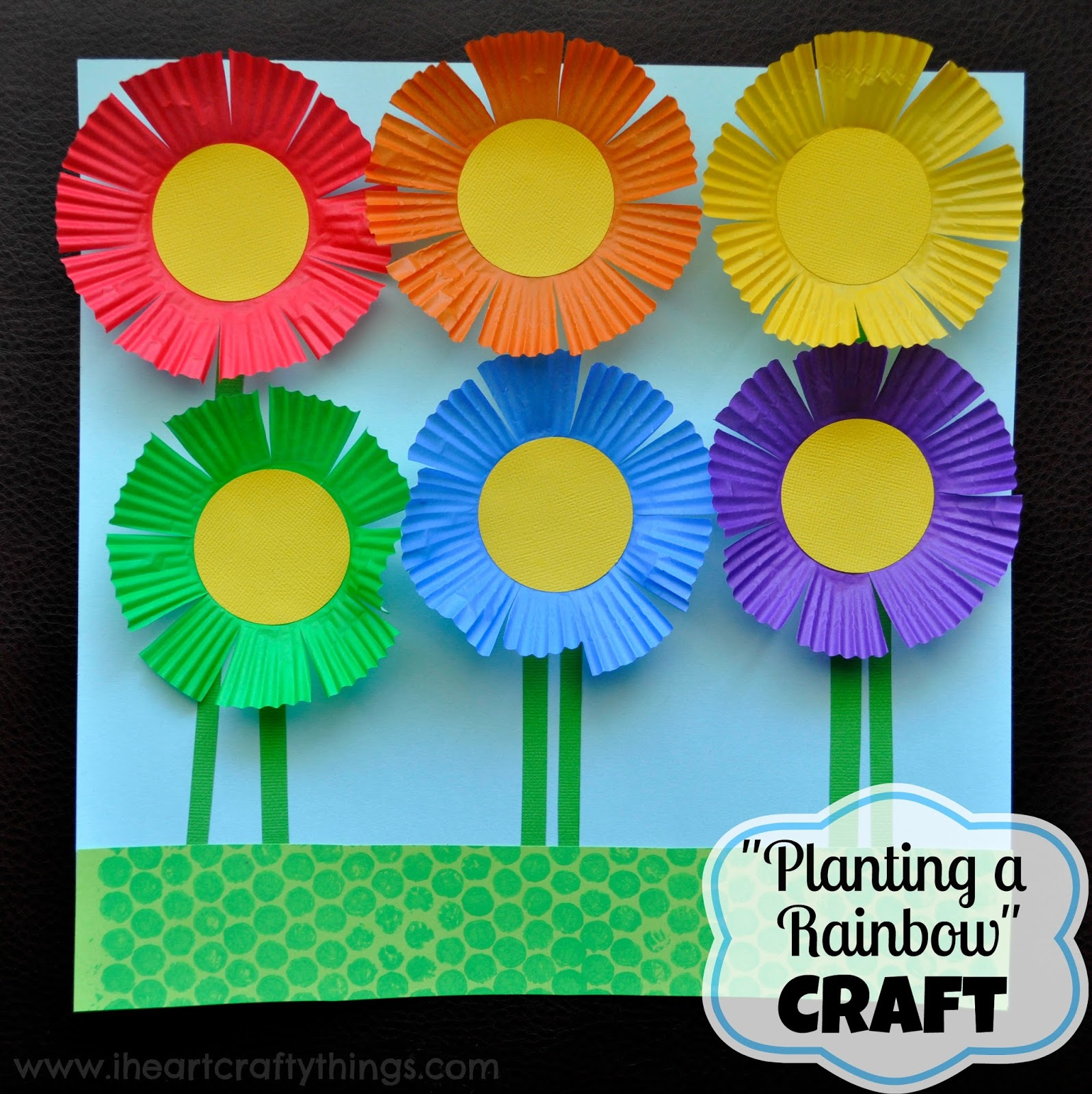 Art And Craft For Preschool 30 Flower Crafts For Kids