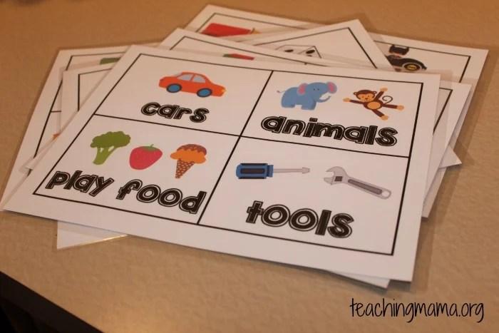 Toy Room Organization Free Toy Bin Labels