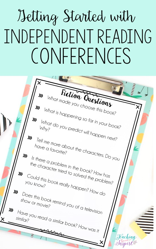 Independent Reading Conferences {A Guide to Getting Started