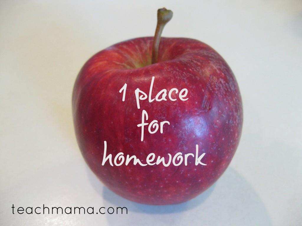 successful school year homework