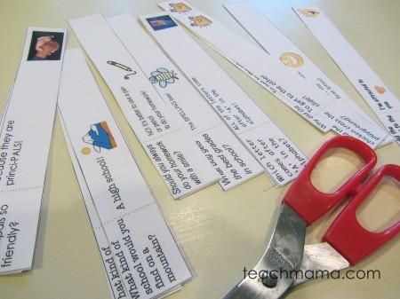school RULES lunchbox joke notes