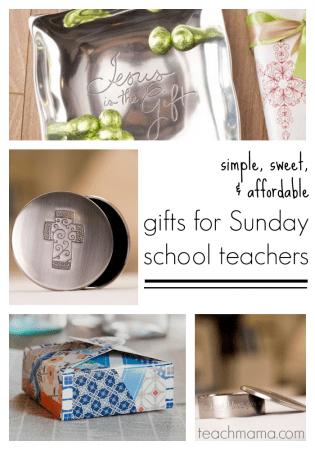 gifts for sunday school teachers or CCD teachers   teachmama.com