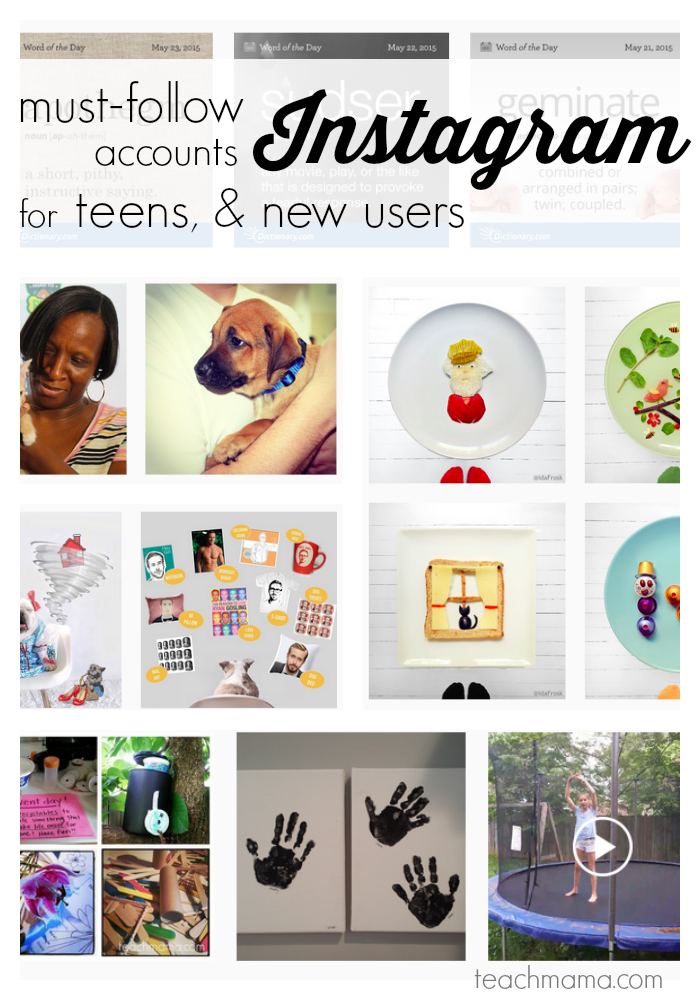 cool instagram accounts for tweens and new users to follow   teachmama.com