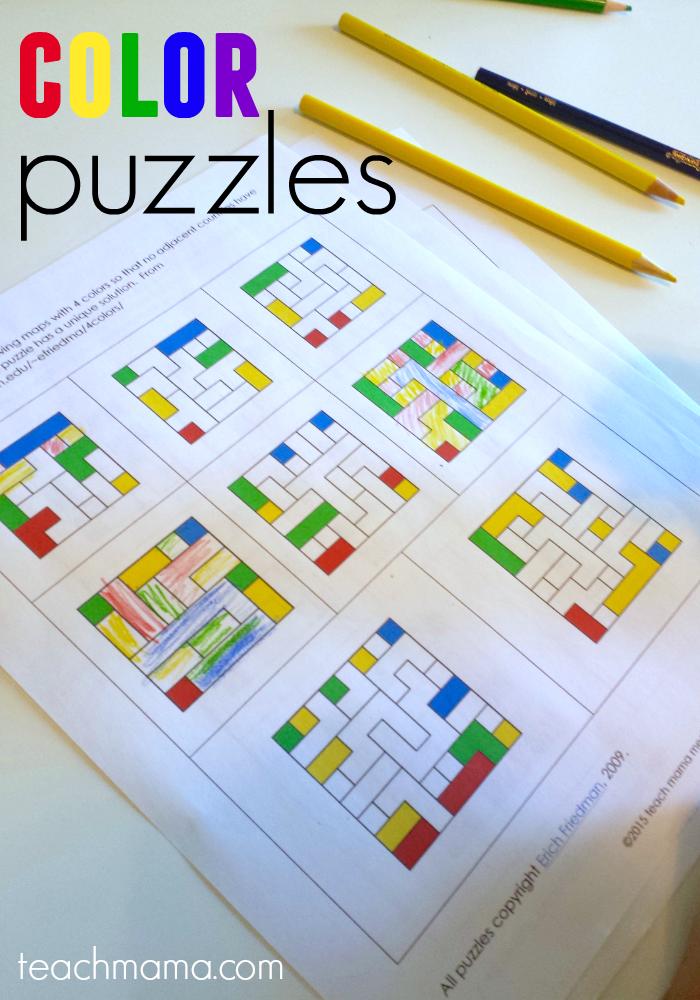 color puzzles teachmama.com