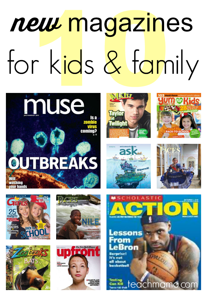 new magazines for kids and family | teachmama.com