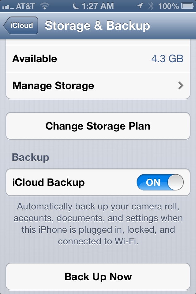 How to use iCloud or Wifi Sync to automatically backup your iPhone, iPad (Mini), and iPod Touch
