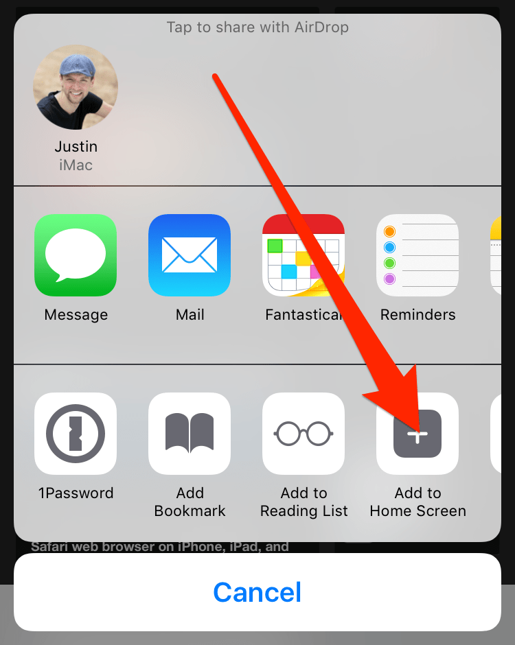 How to add a Webpage Bookmark as an Icon on Home Screen of iPhone, iPad, and iPod Touch