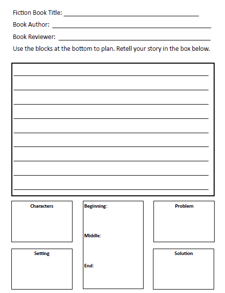 Book Report Template High School Nonfiction – Book Report Template for High School