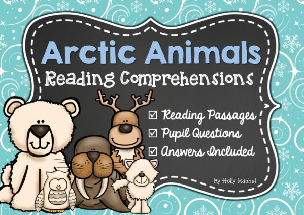 Arctic animal reading comprehension close