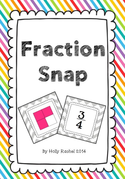 fraction snap classroom game