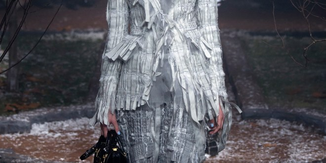 Thom Browne- Fall 2016-  A Tornado hits Fashion!