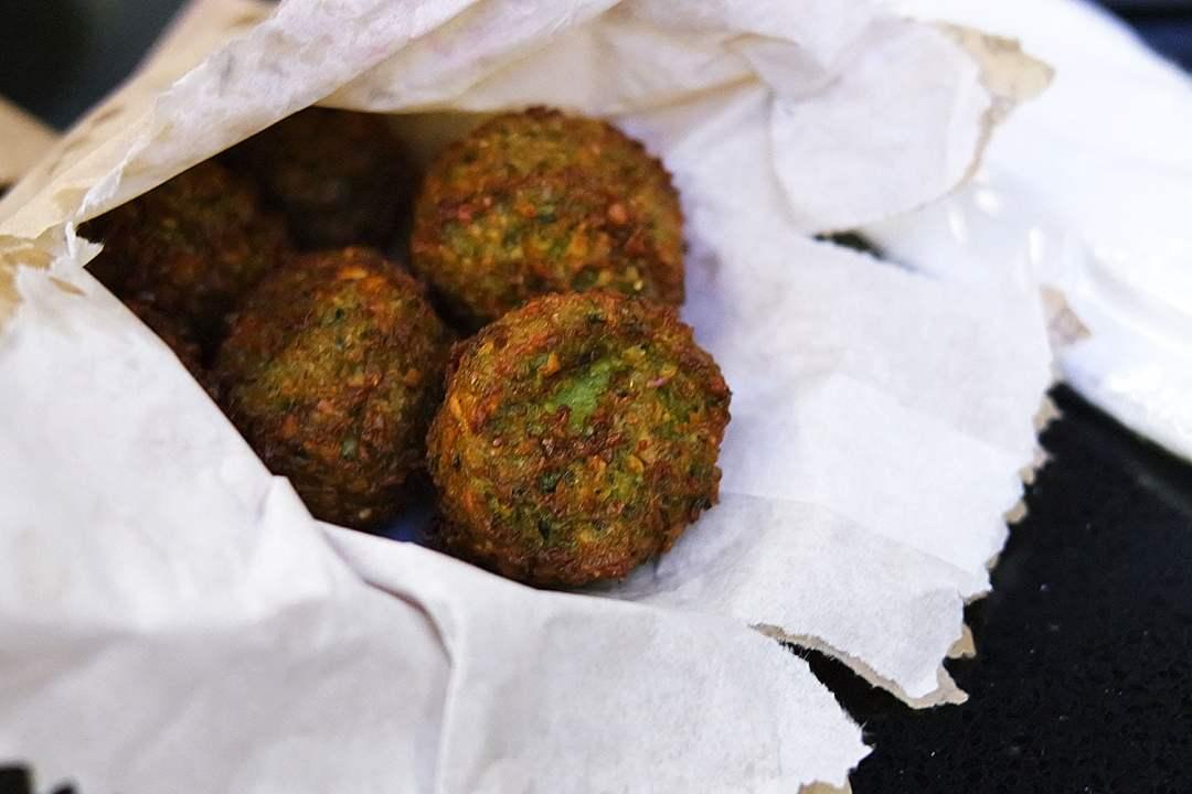 Falafel from Sabbaba in Westfield Sydney