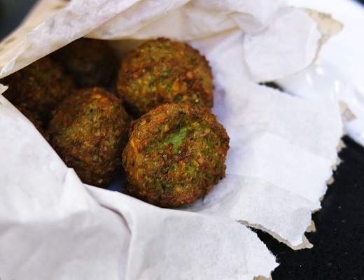 Falafel from Sabbaba in Westfield Sydney