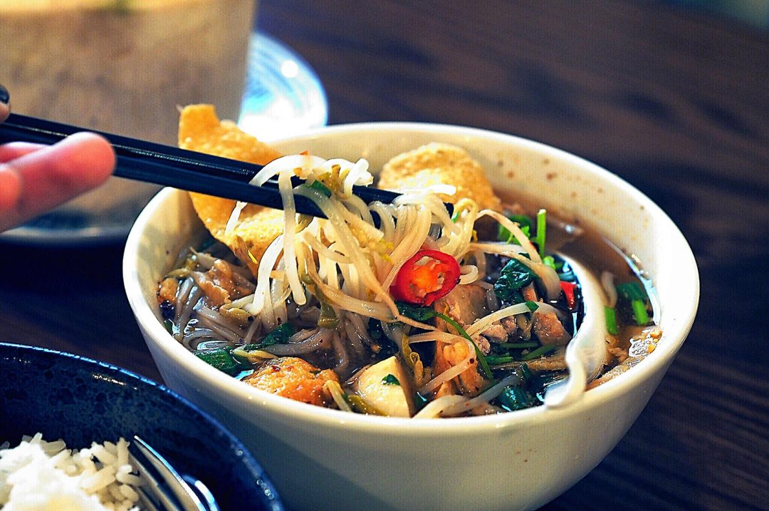 Restaurant Review of Assamm, Sydney CBD. Sukhothai Noodle Soup