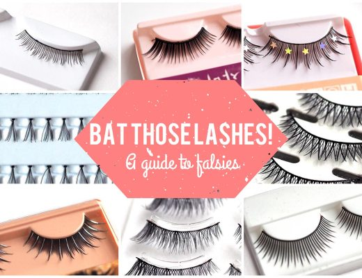 A guide to false eyelashes on Tea For Tammi!