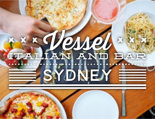 Vessel Italian and Bar, Sydney. Sydney Food Blog Review
