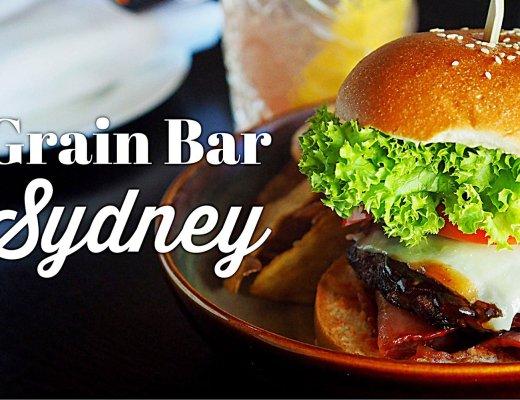 Grain Bar, Four Seasons, Sydney. Sydney Food Blog Review