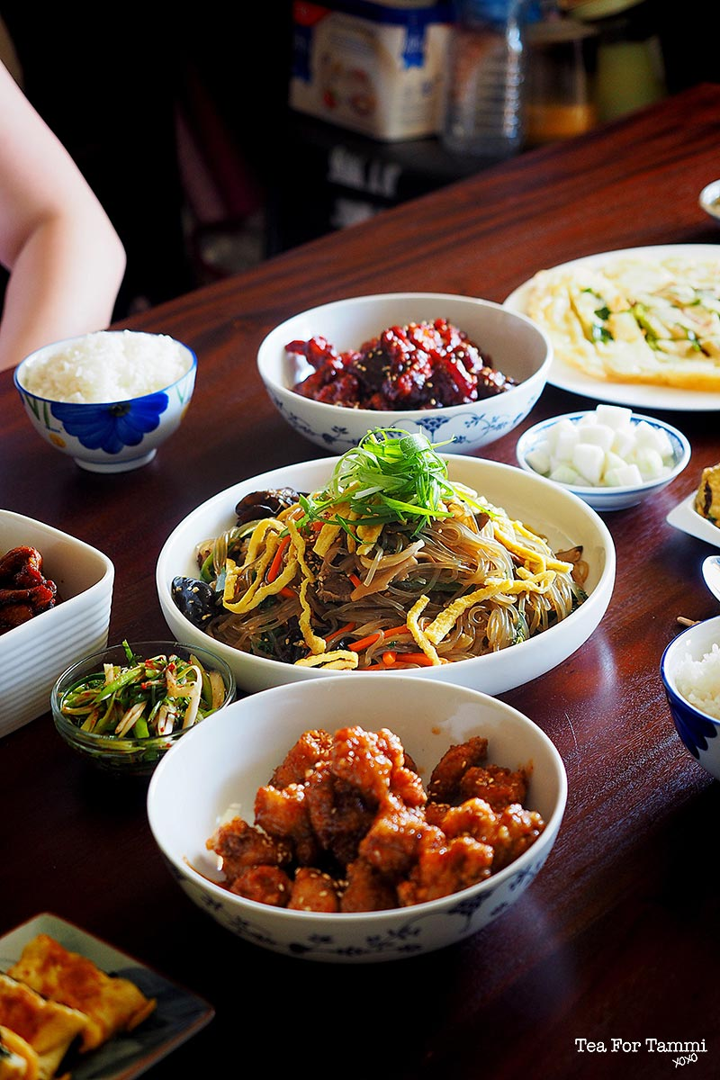 How to have your very own Korean Food Party. Step 9: Eat the damn food