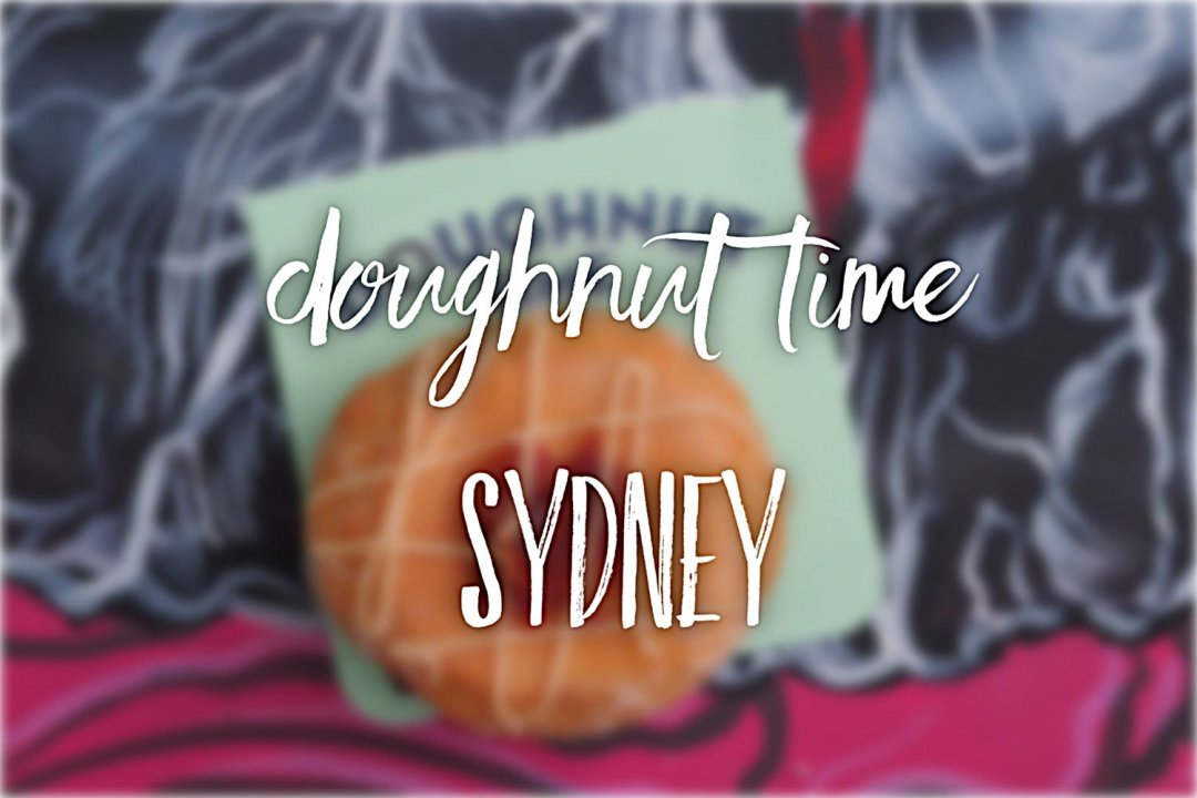 Sydney Food Blog review of Doughnut Time, Sydney