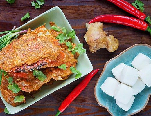 Authentic Singapore Chilli Crab Recipe from Tea For Tammi