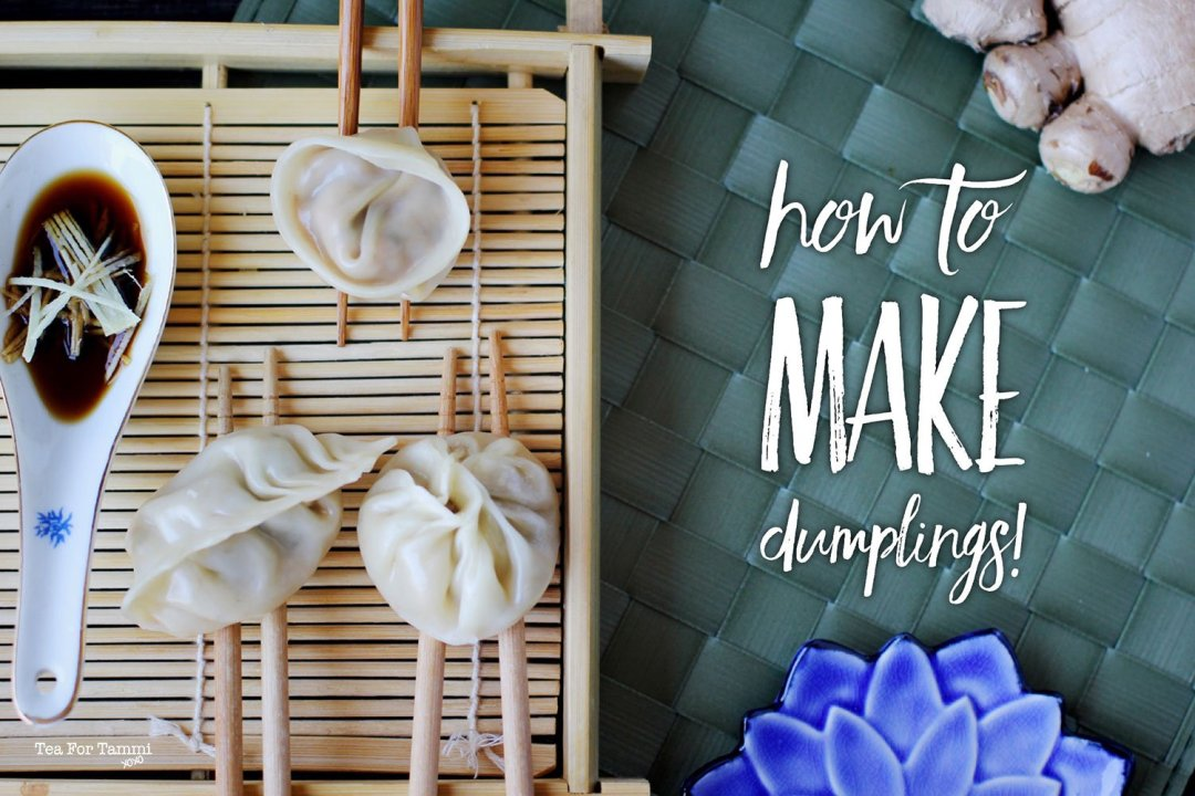 How to make dumplings!