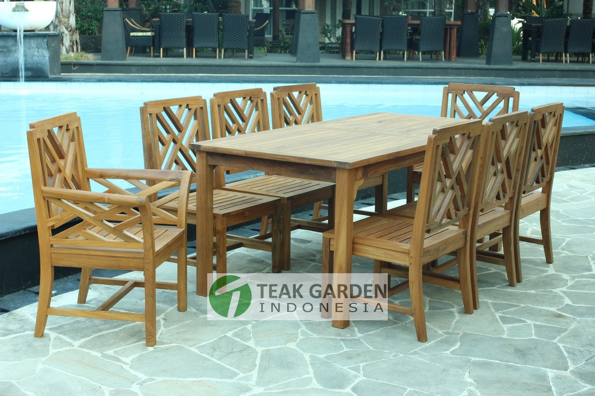 Garten Lounge Dining Indonesian Teak Garden Patio Furniture Manufacture Wholesale