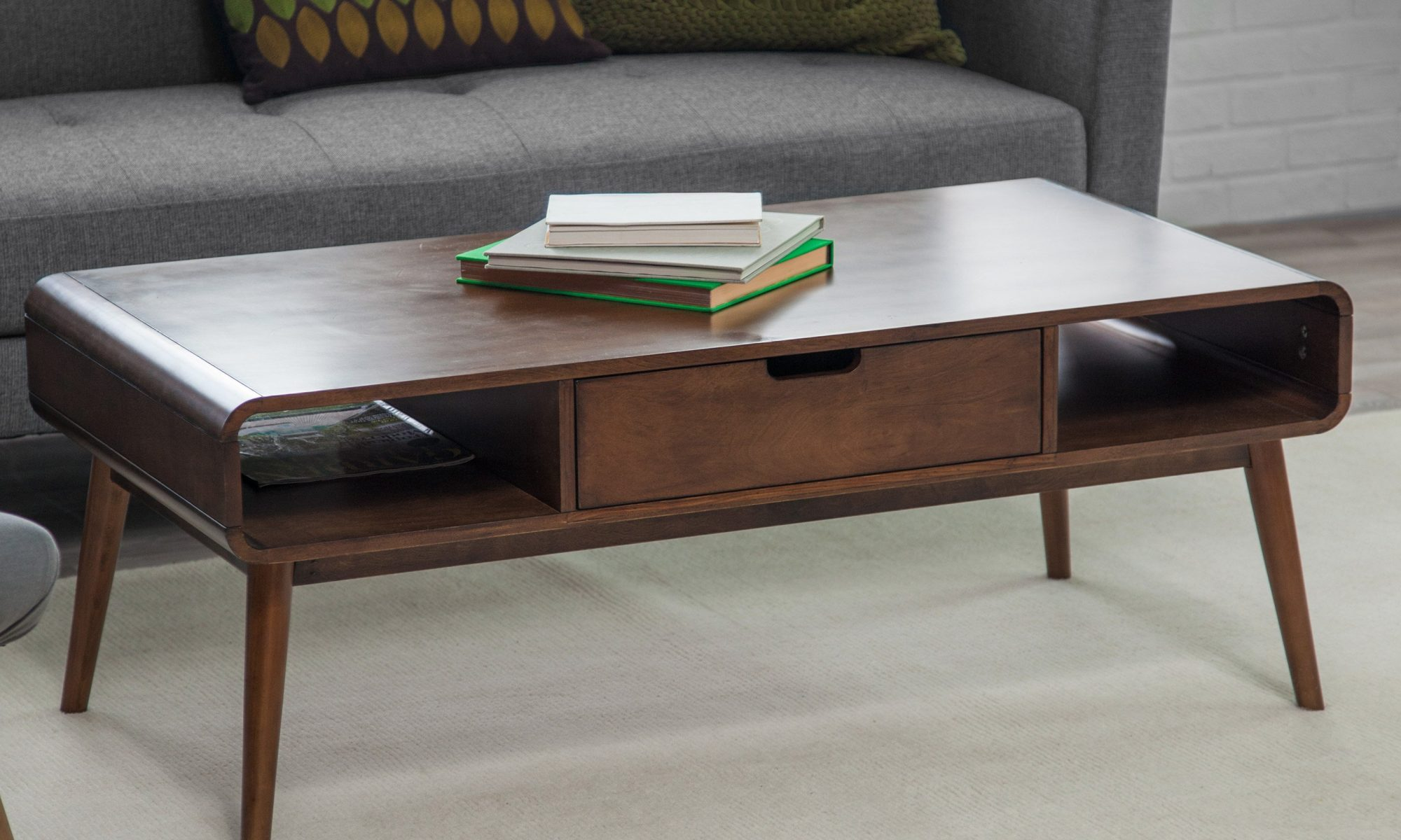Gorgeous Coffee Table Belham Living Carter Mid Century Coffee Table  Hayneedlecoffee Table 2000x1200 Home Depot Table