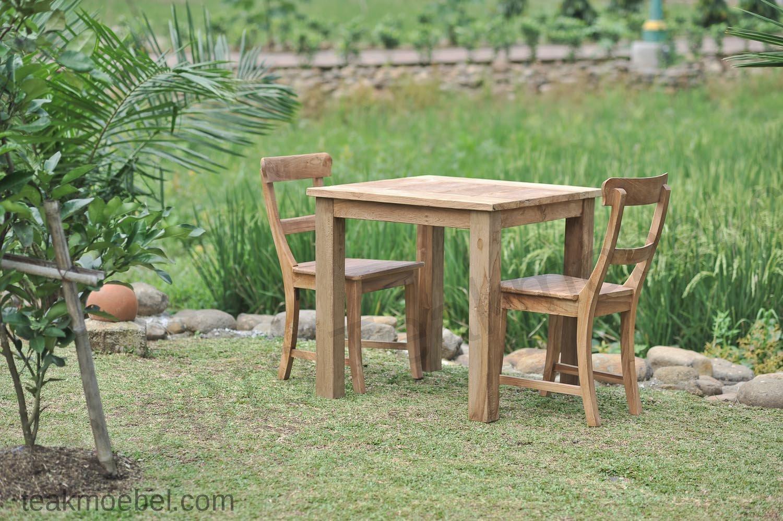 Gartentisch Holz 90x90 Gartentisch Quadratisch Verno 90x90 Cm