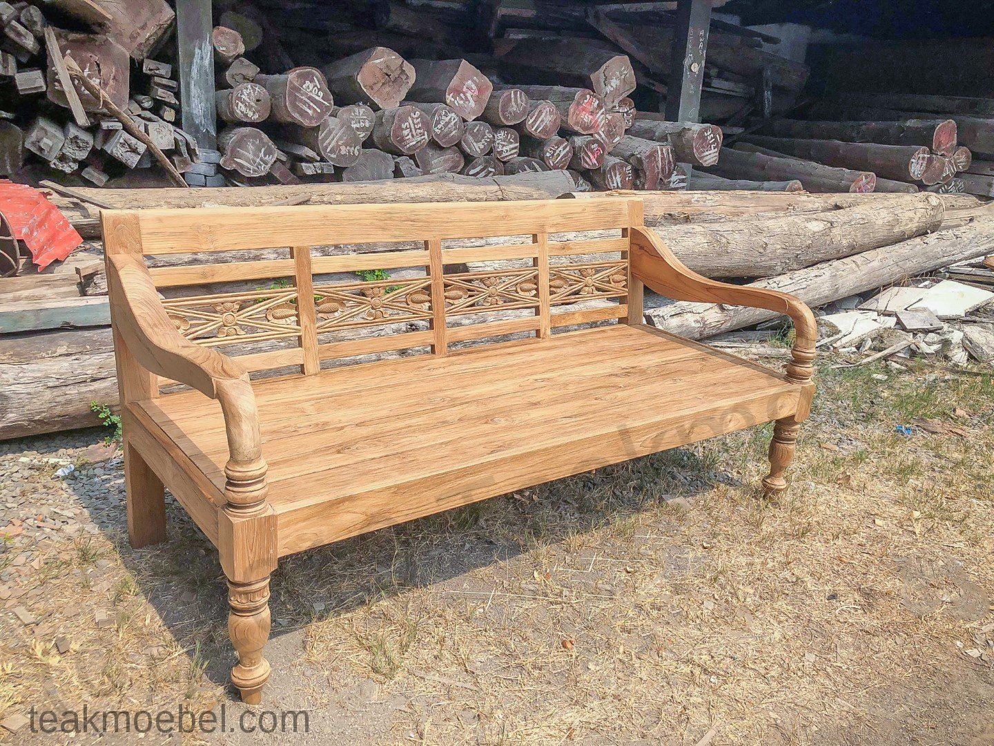 Lounge Bank Xl Teak Loungebank