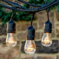Top Outdoor String Lights for the Holidays - Teak Patio ...