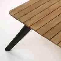 Platform Reclaimed Teak Coffee Table | Outdoor Furniture ...