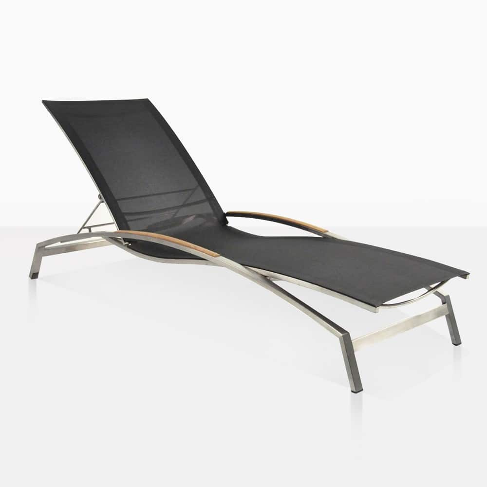 White Plastic Sun Loungers Summer Stainless Steel And Batyline Sun Lounger Black