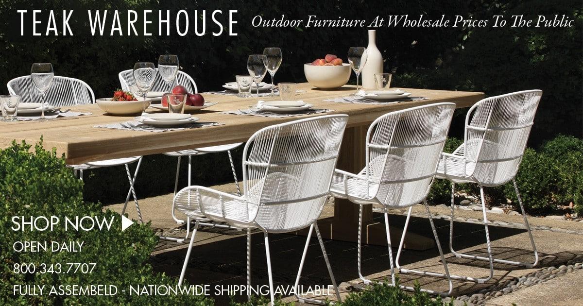 Teak Warehouse Teak Wicker And Outdoor Furniture