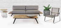Platform Reclaimed Teak Outdoor Patio Furniture Collection ...