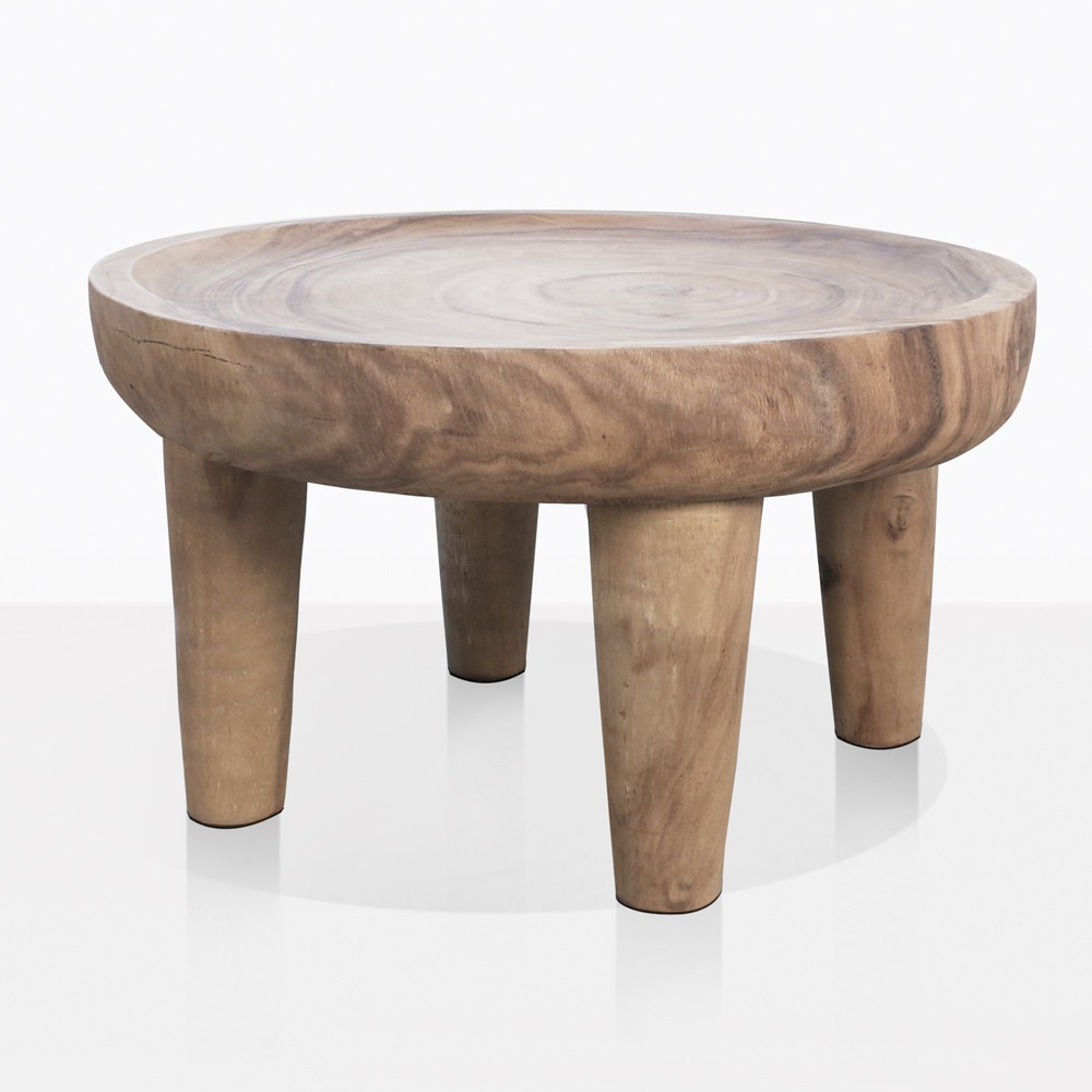 Coffee And Side Tables African Safari Teak Side Table Large