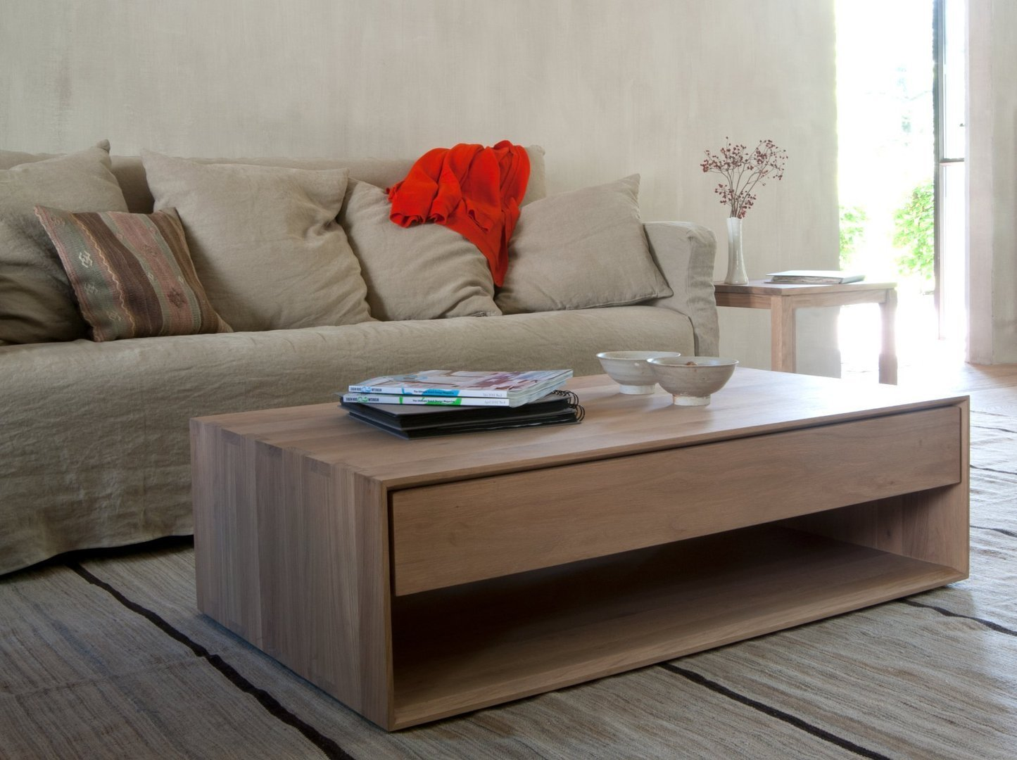Couchtisch Nordic Design Ethnicraft Oak Nordic Coffee Table Couchtisch