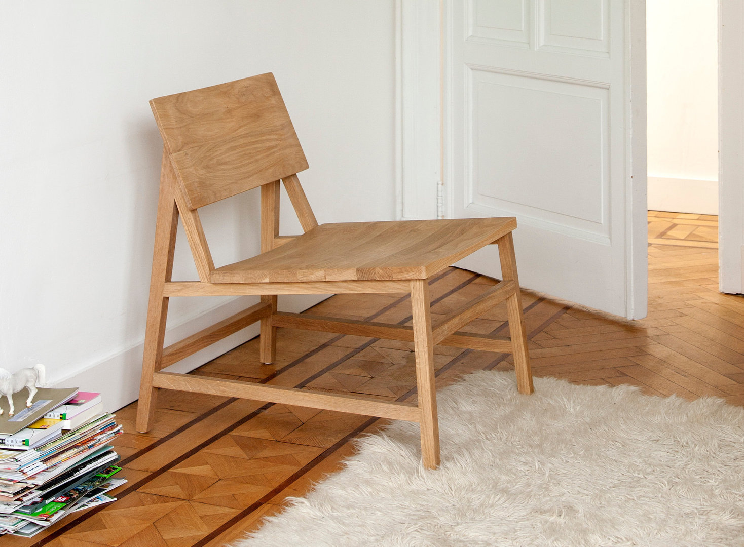 Lounge Stuhl Ethnicraft Oak N2 Lounge Chair Lounge Stuhl