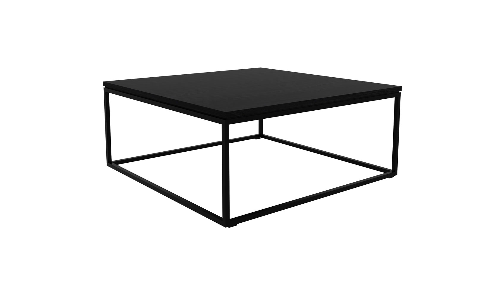 Couchtisch Samoa Eiche Ethnicraft Oak Thin Black Coffee Table Couchtisch Eiche