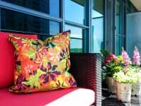 Decorating An Apartment Balcony for Summer  tealarrowdesign