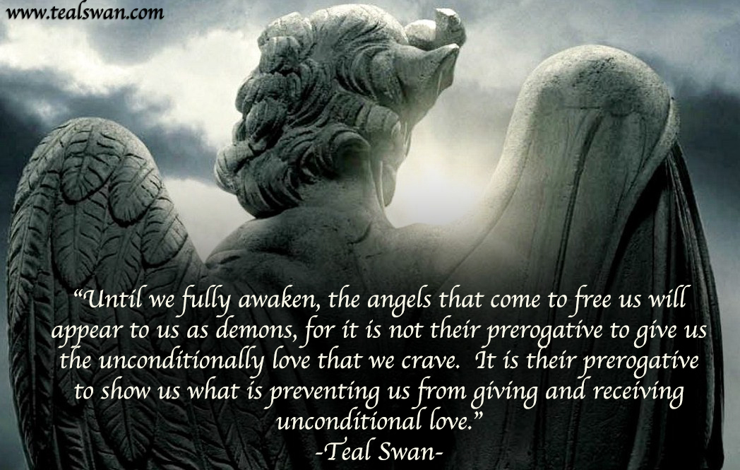 Lone Wolf Wallpaper Quote Angels And Demons Quote Blog Posts Teal Swan