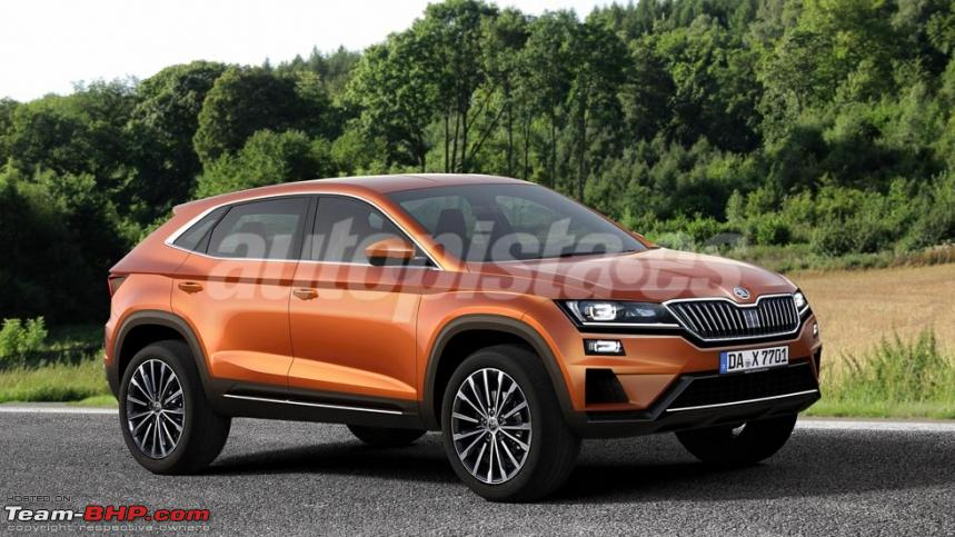 Location Tvm Skoda Plans Coupe Version Of The Kodiaq Suv - Team-bhp