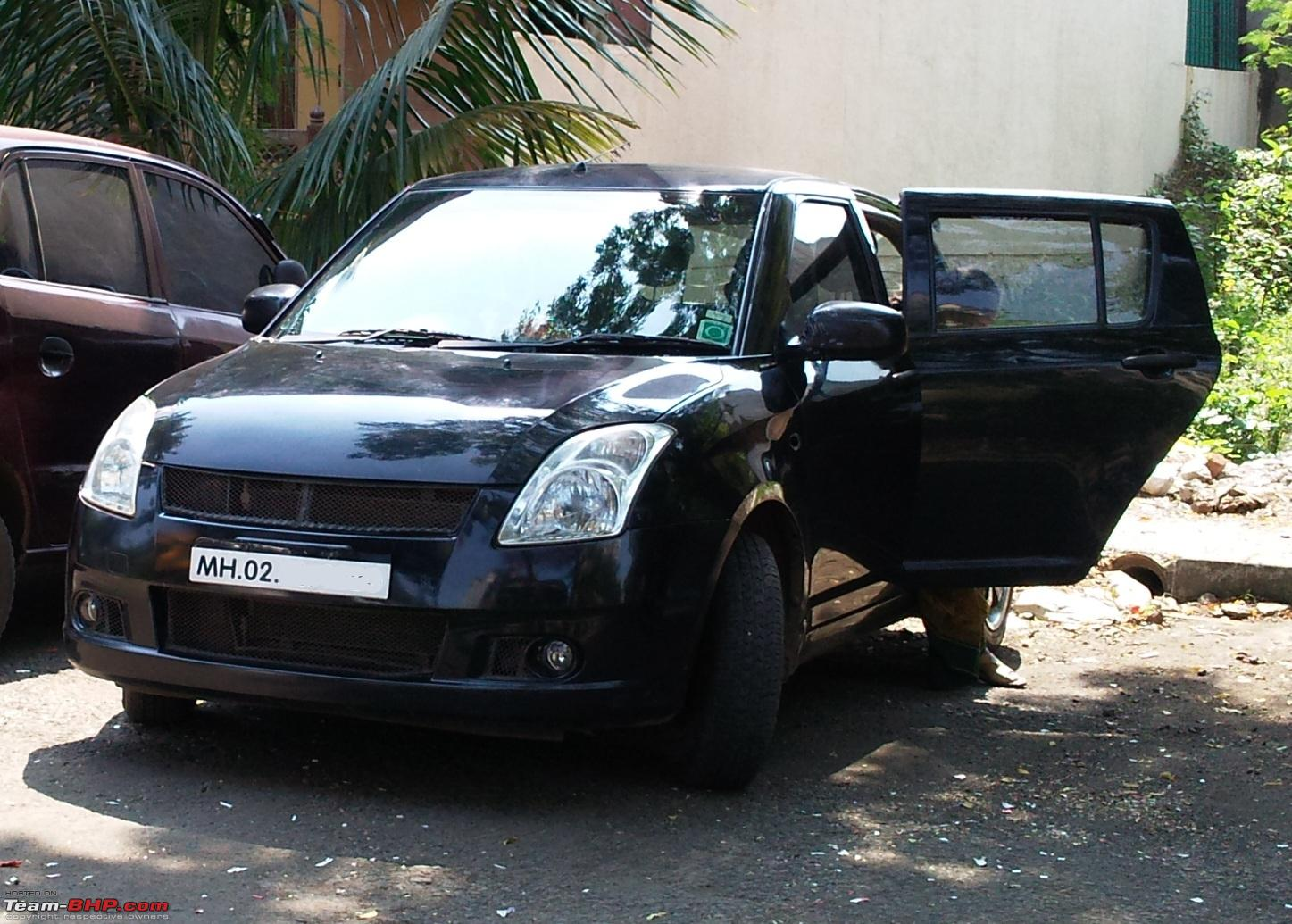 Garage Grill Nibm Swift Mods Post All Queries Pics Of Swift Modifications Here