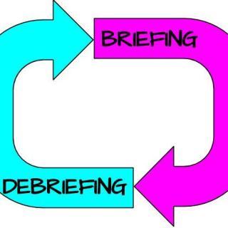 Briefing Debriefing Cycle