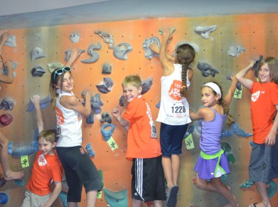 Team ABC always ready to climb